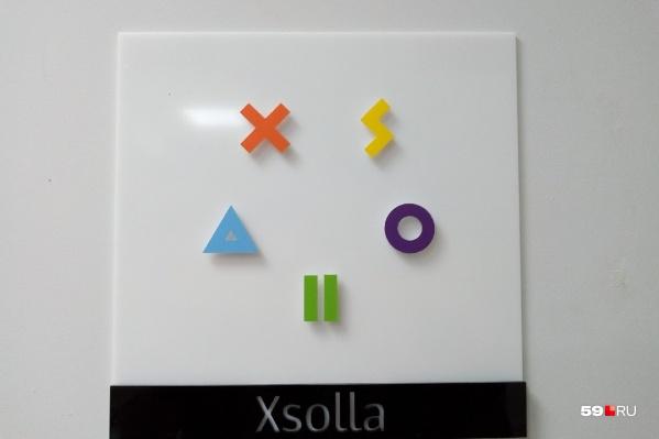 Логотип компании похож на головоломку