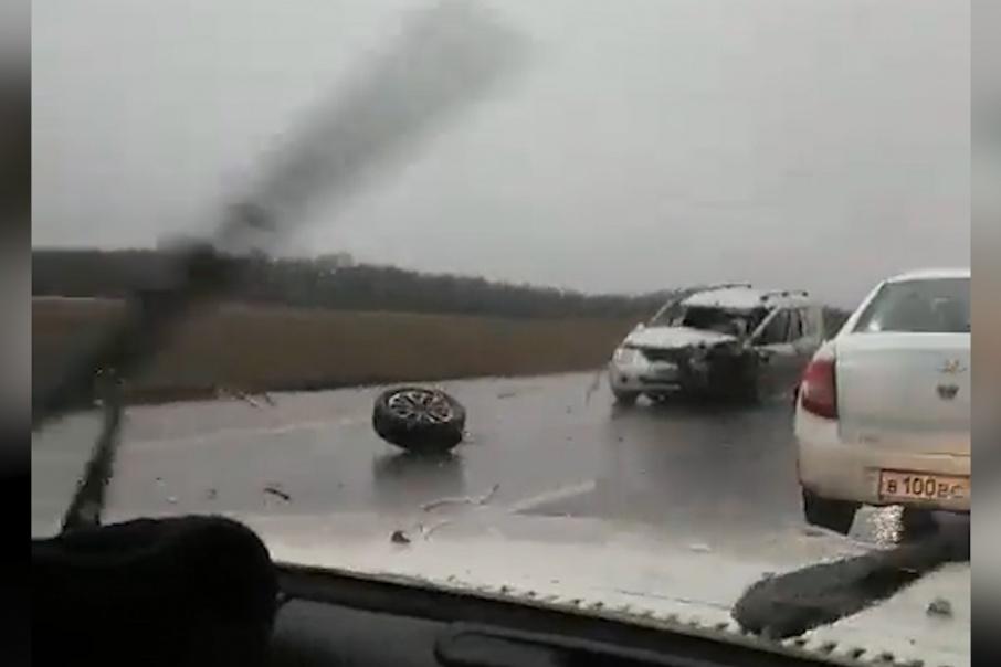 Столкнулись несколько автомобилей