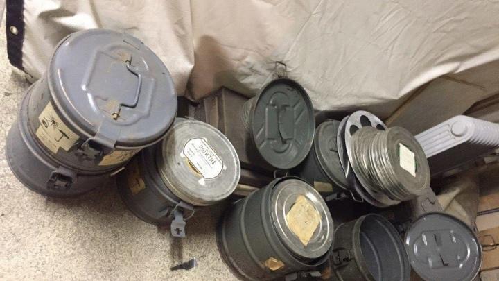 В подвале НГТУ нашли тайник с киноплёнками