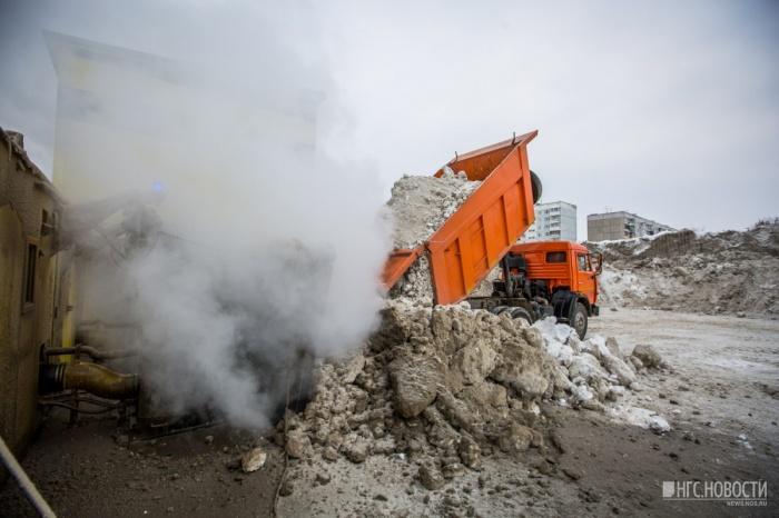 Снегоплавильная станция на ул. Широкой