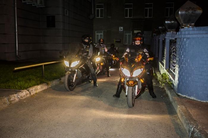 Байкеры посвятили пробег юбилею Новосибирской области
