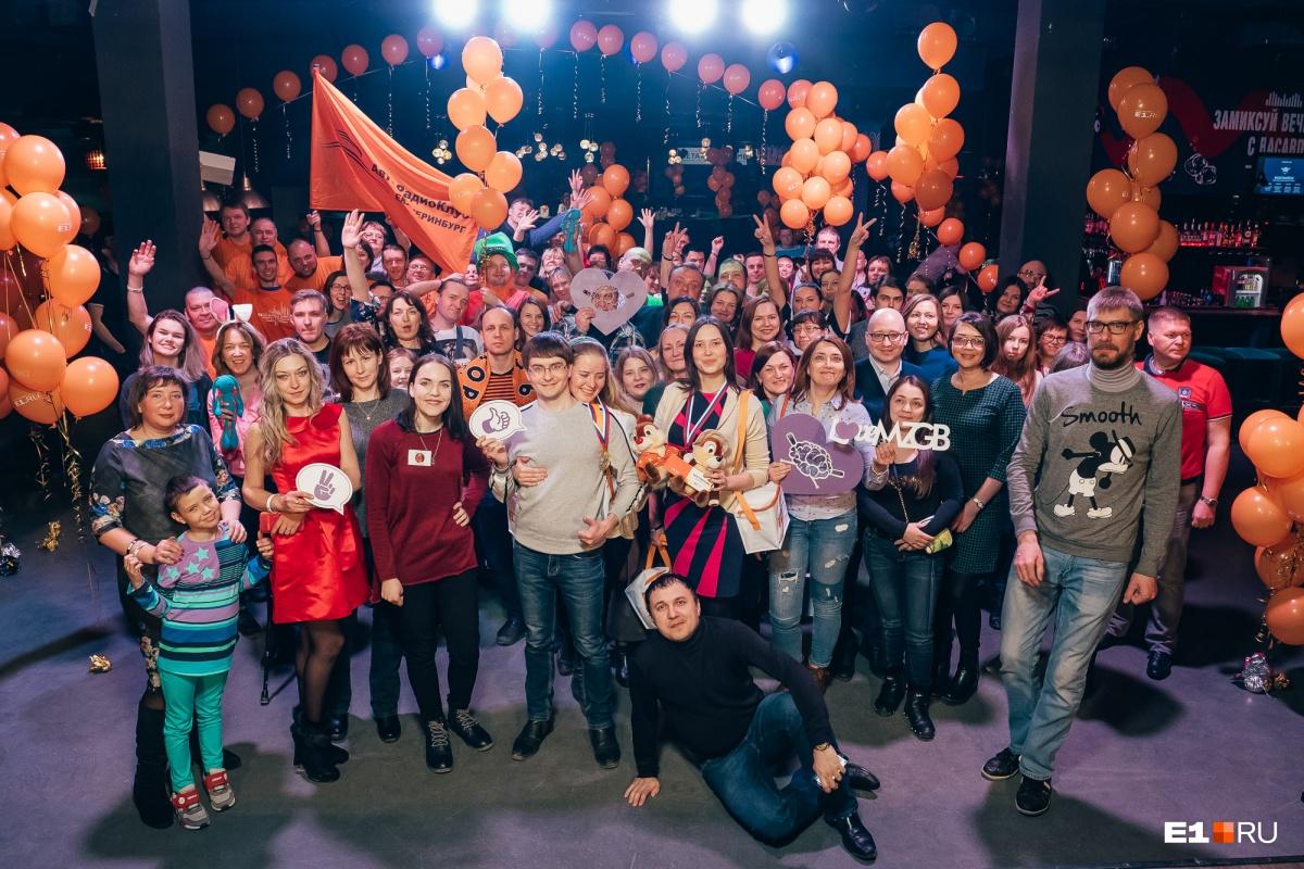 Коллективное фото после игры
