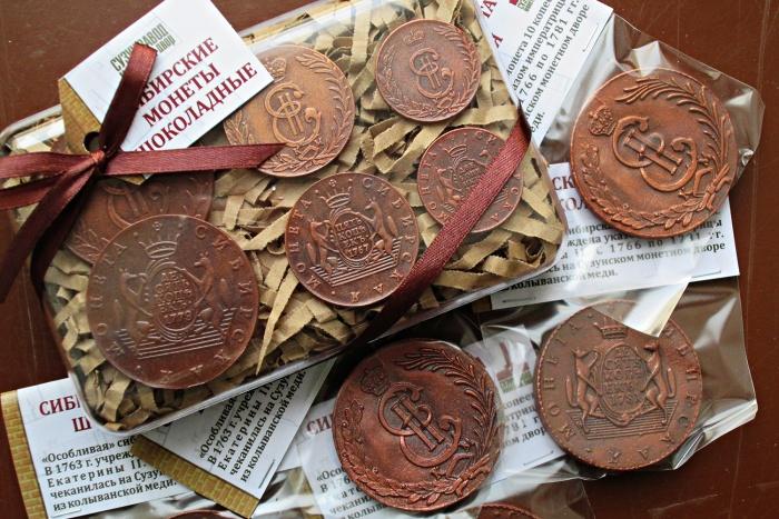 Медные монеты, которые выпускались в Сузуне в XVIII веке, стали шоколадными