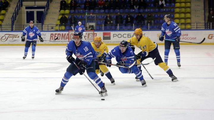 Пропустили два гола, но выиграли матч: «Зауралье» на домашнем льду принимало пензенский «Дизель»