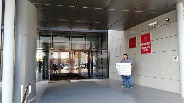«Я в администрации президента устрою голодовку»: волгоградец требует признать нарушения на выборах
