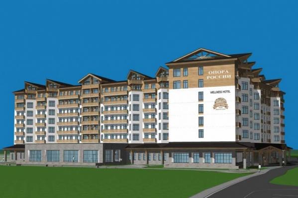 На горнолыжном курорте «Солнечная долина» появятся три отеля