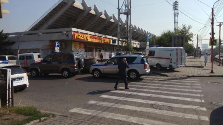 После взрыва в кафе стадион «Локомотив» закрывают на обследование