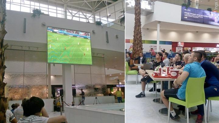 Где в Красноярске посмотреть игры ЧМ по футболу. Список мест
