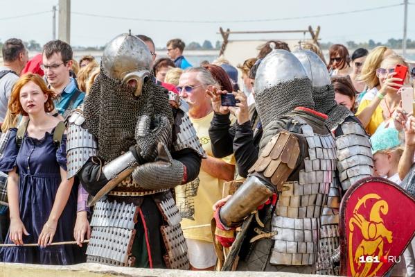 Исторические фестивали в Ростовской области собирают зрителей со всей страны