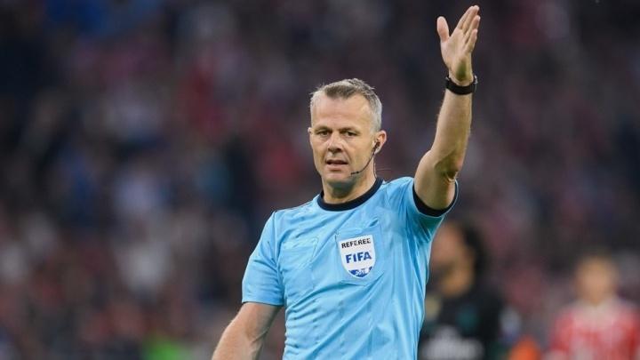 Арбитром матча Египет — Уругвай, который пройдет в Екатеринбурге, будет голландский судья Кёйперс
