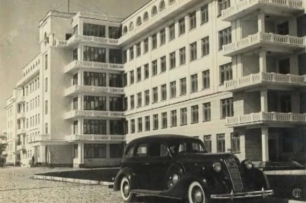 Здание больницы в Зеленой Роще начали строить в 1932 году