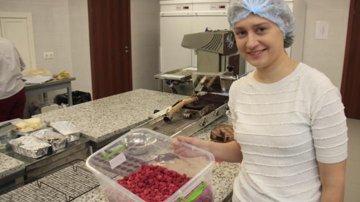 Таня и её шоколадный дом
