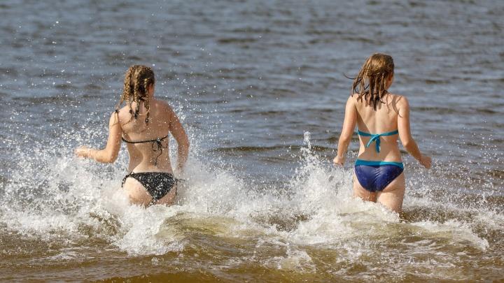 «Илья сделал своё дело»: волгоградцы на пляжах не знают запретов и примет