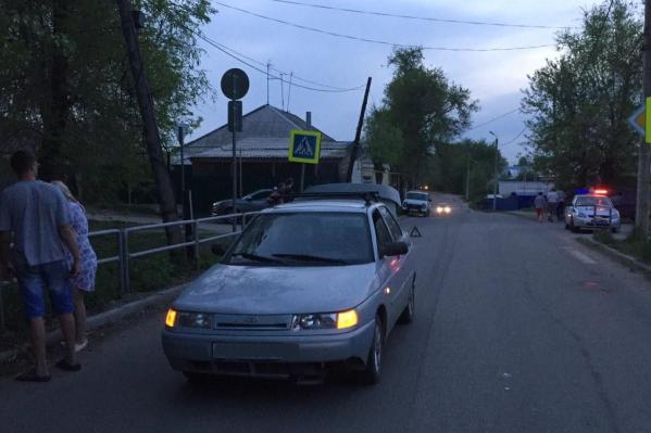 Авария произошла в 20:20 рядом с пешеходным переходом