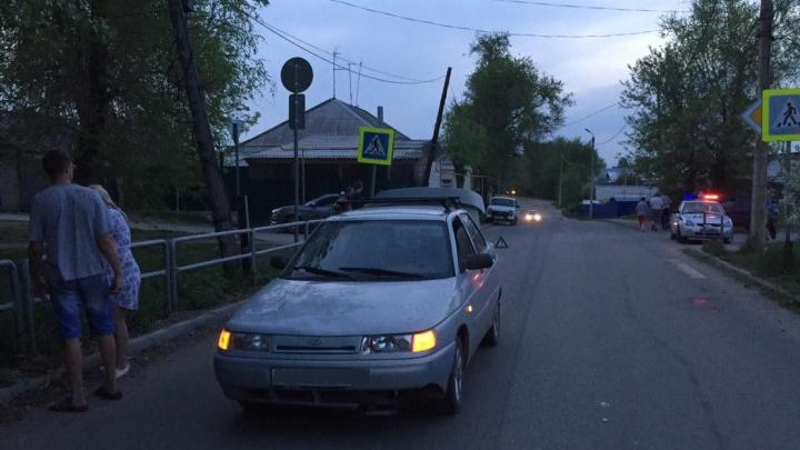 В Самарской области «десятка» сбила 8-летнего велосипедиста