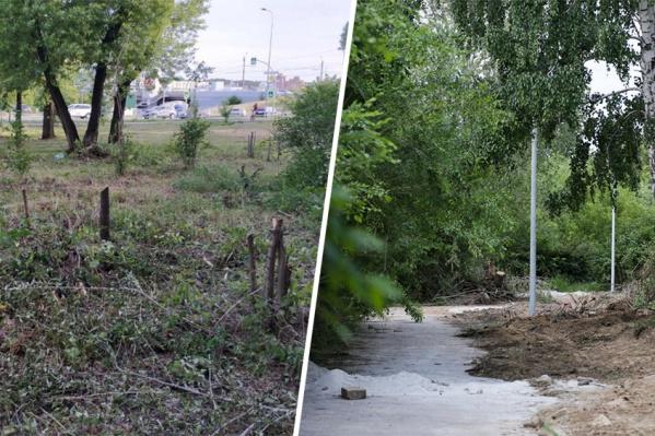 Пока что эти места в Металлургическом и Калининском районах не притягивают челябинцев прогуляться