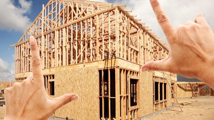 В Новосибирске стали чаще строить дома из дерева (фото)