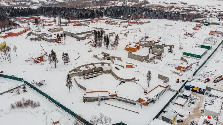 Строительство пермского зоопарка приостановили на неопределенный срок