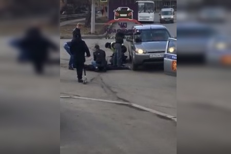 В полиции рассказали подробности жесткого задержания на Железнодорожников
