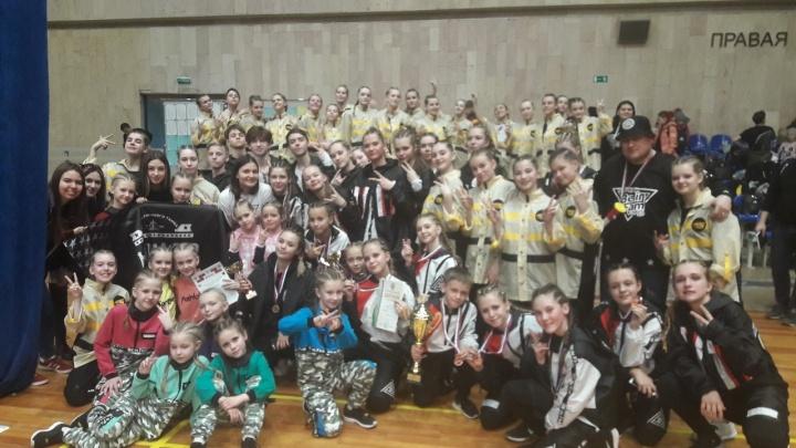 Курганские танцоры завоевали призовые места чемпионата и первенства России Hip Hop Unite Russia