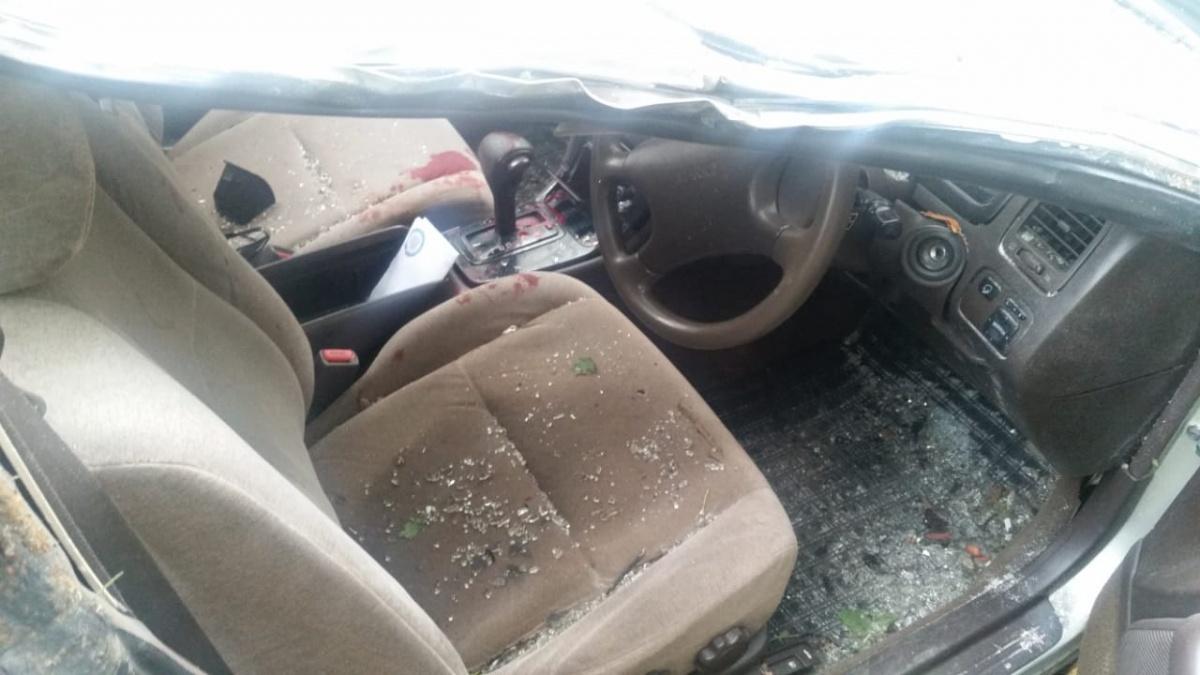 Травмы получили водитель и его пассажир