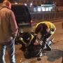 Полицейские гнались с Мотовилихи. В Перми пьяный водитель протаранил стоящий на светофоре автомобиль