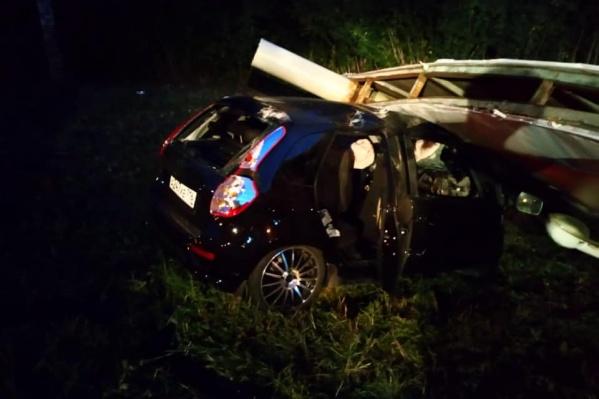 Авария закончилась фатально для одного из пассажиров