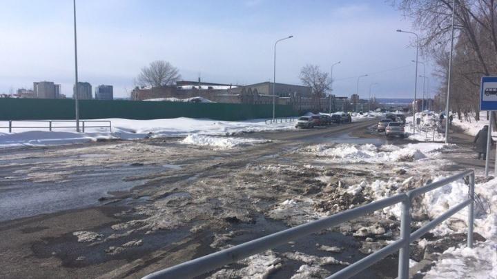 Подрядчика реконструкции улицы Луначарского объявили в розыск