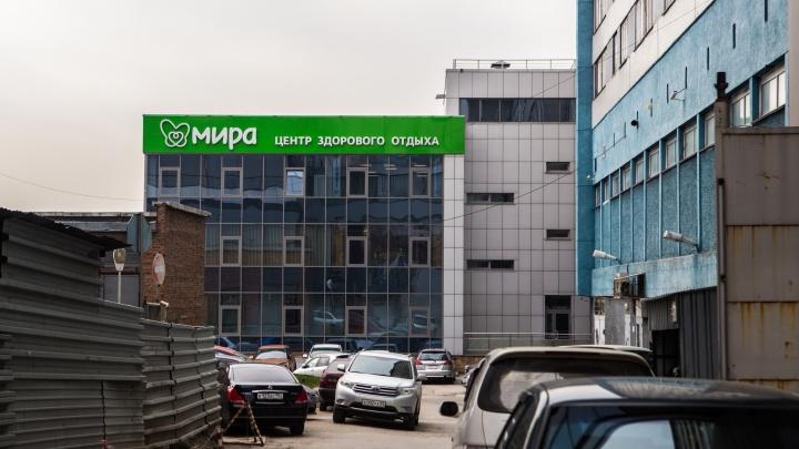 На набережной Новосибирска закрылся большой комплекс с термами и спа