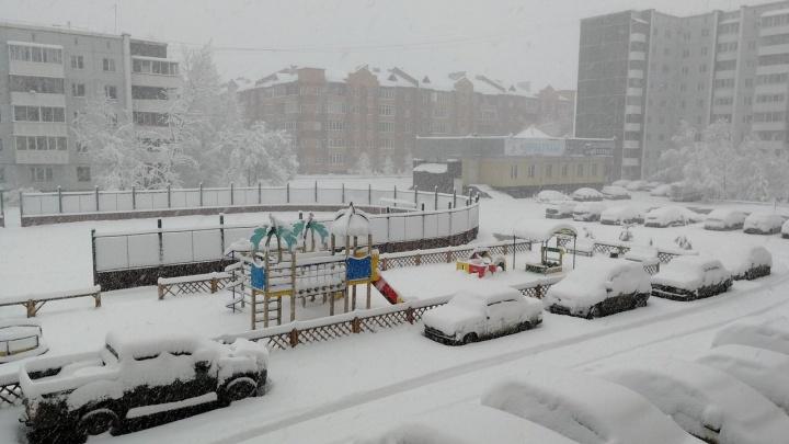 Под Минусинском водитель замерзал в забуксовавшей «Гранте»
