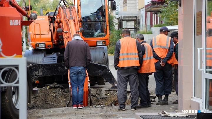 В Омске отключили от горячей воды 98 домов