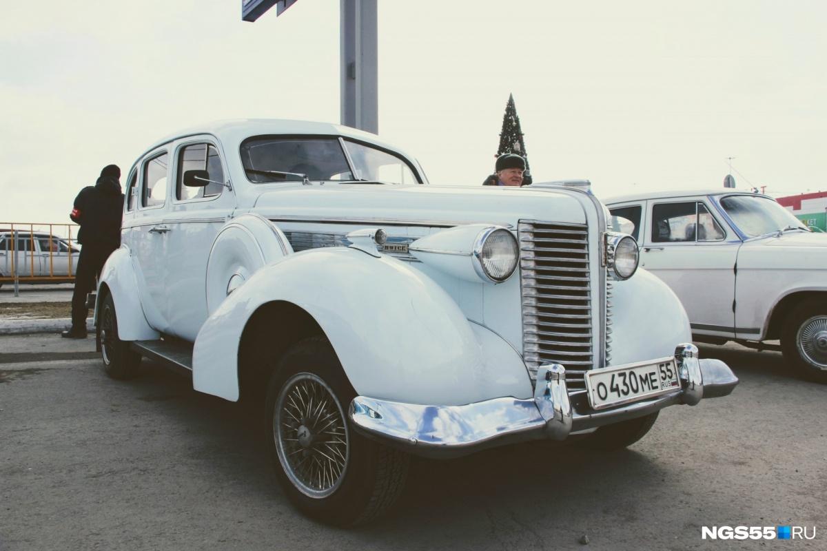 Сначала заокеанский «Бьюик» выписал себе немец, но после войны машина перекочевала в Советский Союз