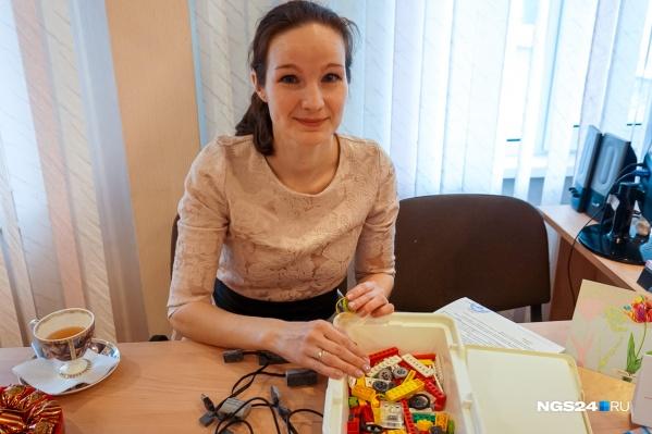 Дарина Деркач стала лучшим воспитателем в Красноярске в 2018 году