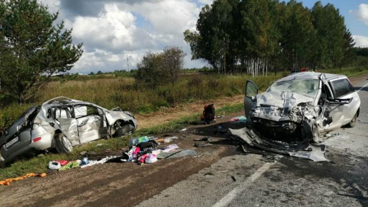 Оба водителя разбившихся под Уяром машин оказались полицейскими