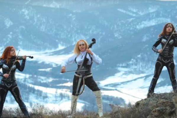 Съёмки проходили в Горном Алтае