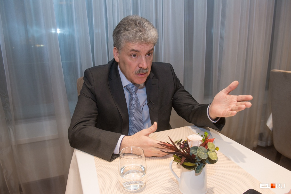 Грудинин уверен, что станет президентом России