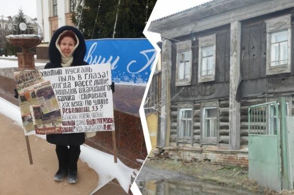 Огласка уже помогла жительнице Ялуторовска сократить срок обещанного переселения