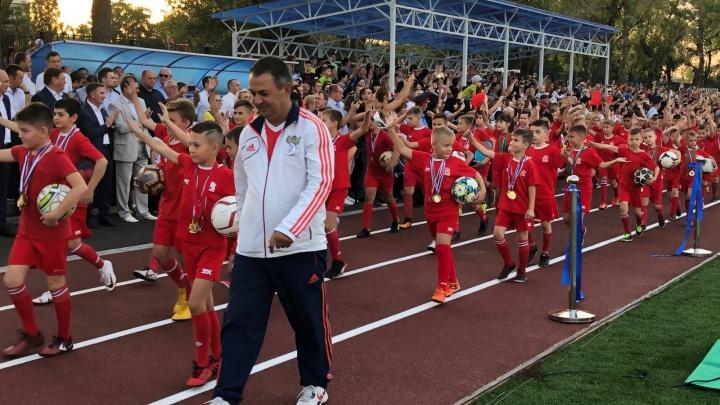 В Аксае реконструировали стадион за 47,6 миллиона рублей