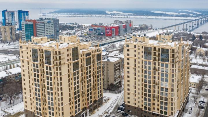 ЖК «Арбат»:квартиры в центре с захватывающими видами на Волгу и город
