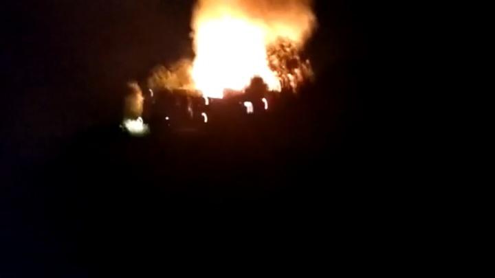 Во время ночного пожара в Ишиме погибли три человека