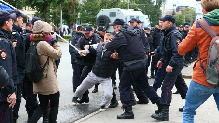 Суд рассмотрел дела всех задержанных на акции против пенсионной реформы в Перми