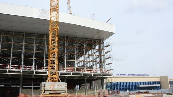 Застройщика челябинского аэропорта оштрафовали за иностранцев, возводящих новый терминал