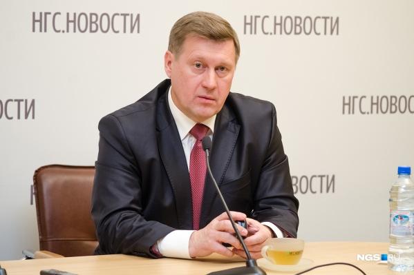 Анатолий Локоть уверен, что желающих пользоваться платным мостом будет немного