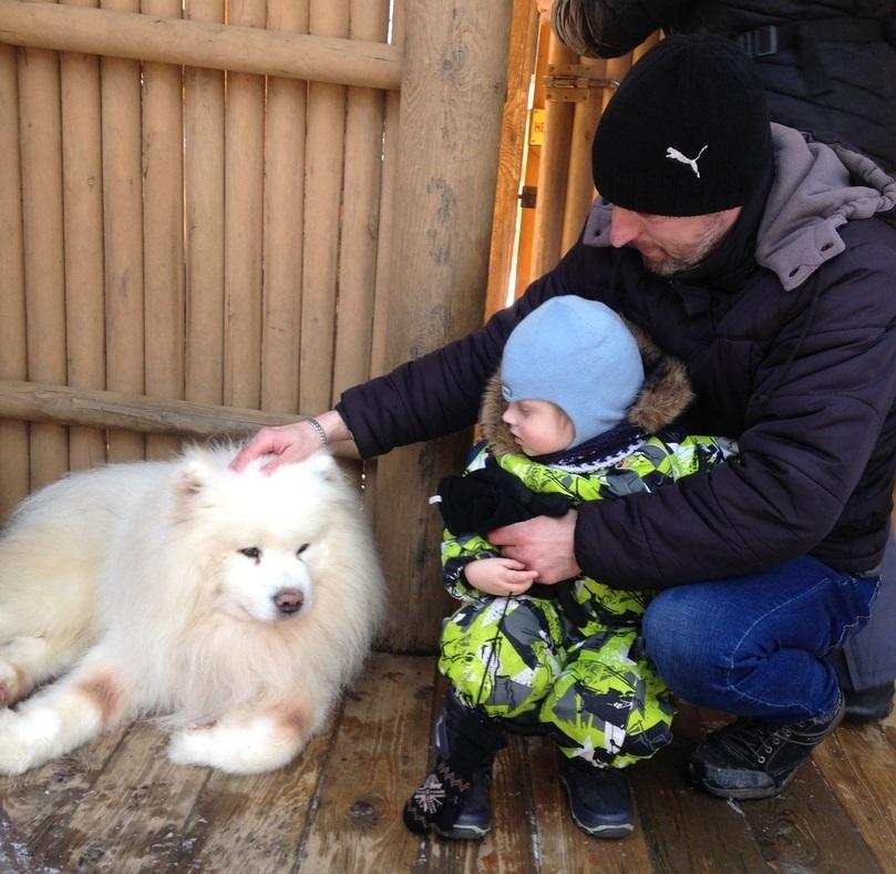 Дмитрий с младшим сыном