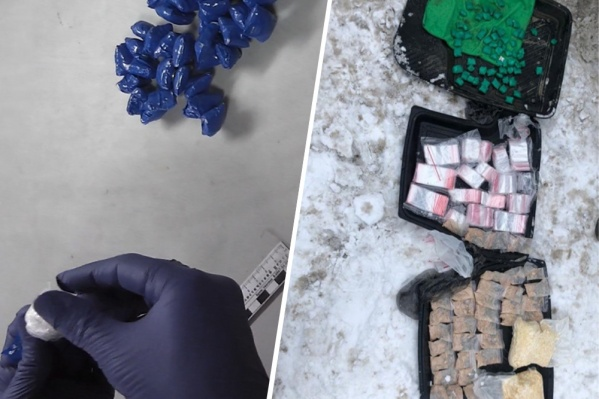 Масса наркотиков превысила 1 килограмм