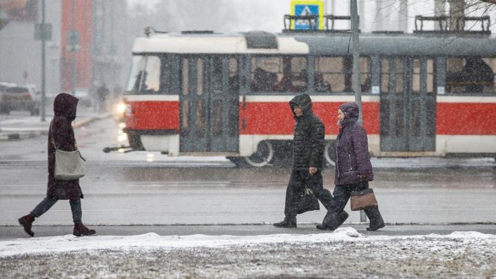 Волгоградцев предупреждают о сильном ветре и морозах до-21 °С