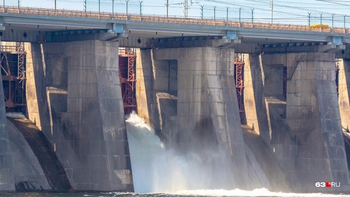 Когда подтопит берег у Самары? На Жигулевской ГЭС рассказали о режиме работы до 10 мая