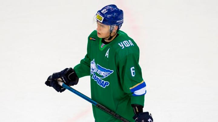 Молодой хоккеист «Салавата Юлаева» вписал свое имя в историю. Одним ударом