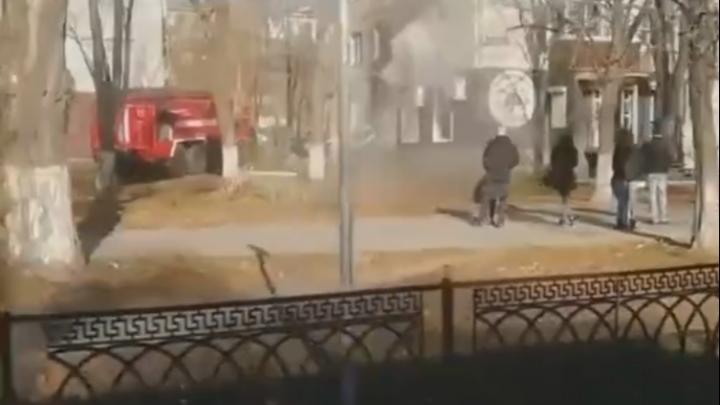На Западном в многоэтажке произошел пожар. Погибли два человека