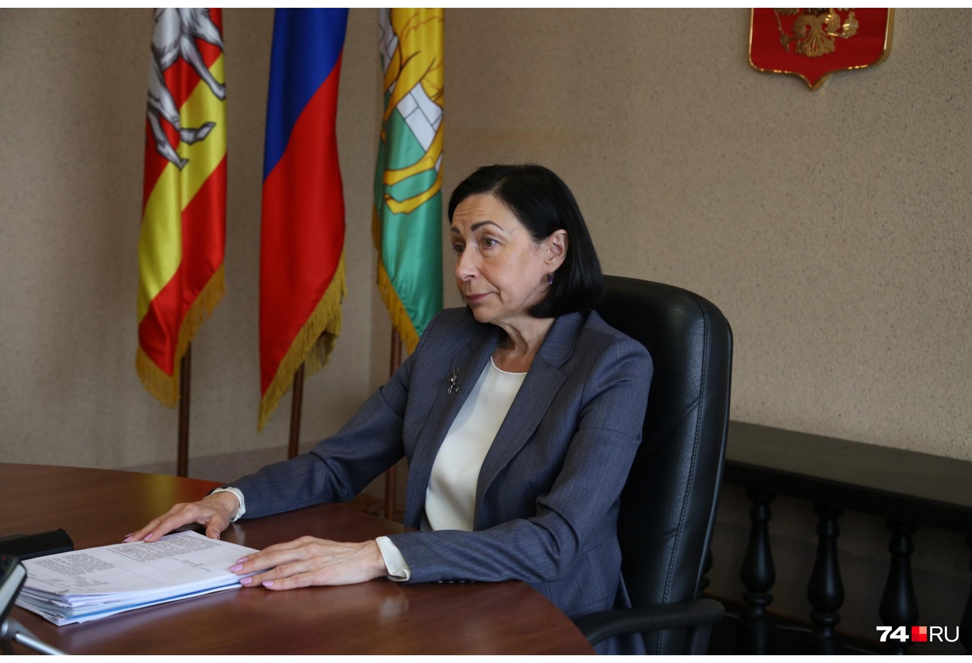 Наталья Котова утверждает, что в формировании последнего плана дорожного ремонта не принимала участия